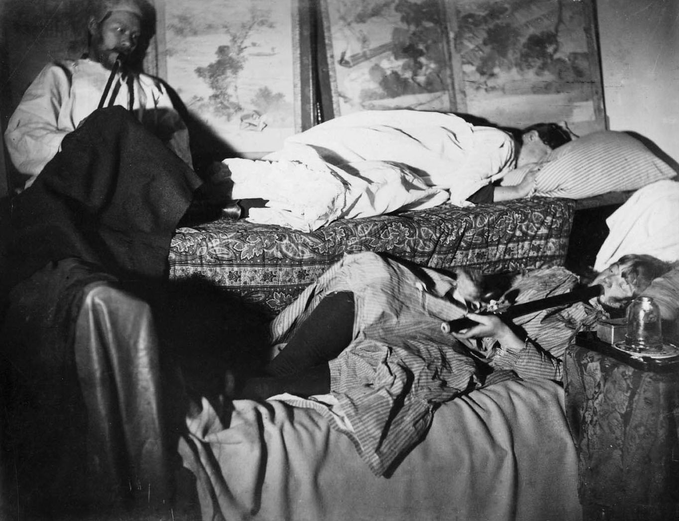 "Afflictor.com · Old Print Article: ""Girl Lured To Opium ..."