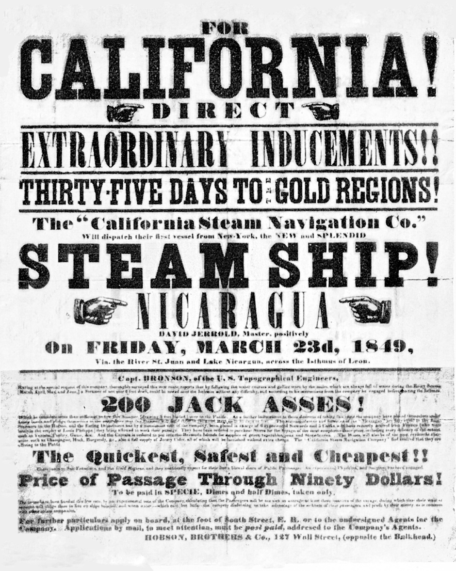 a study of the california gold rush Kids learn about the california gold rush from the old west thousands of people move to the west to search for gold and strike it rich.