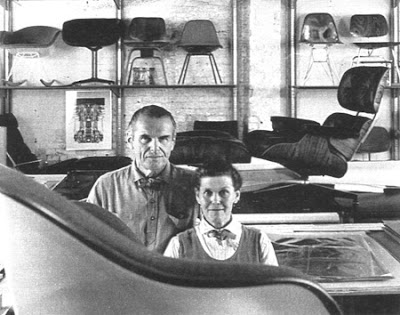 We re in new york to introduce a new chair for Charles eames fake