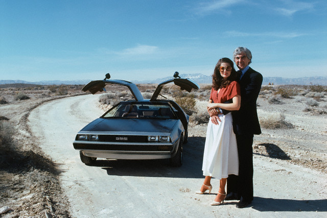 john delorean A film about the controversial car manufacturer john delorean is to  in 1984  delorean was found not guilty of drugs offences in the usa.