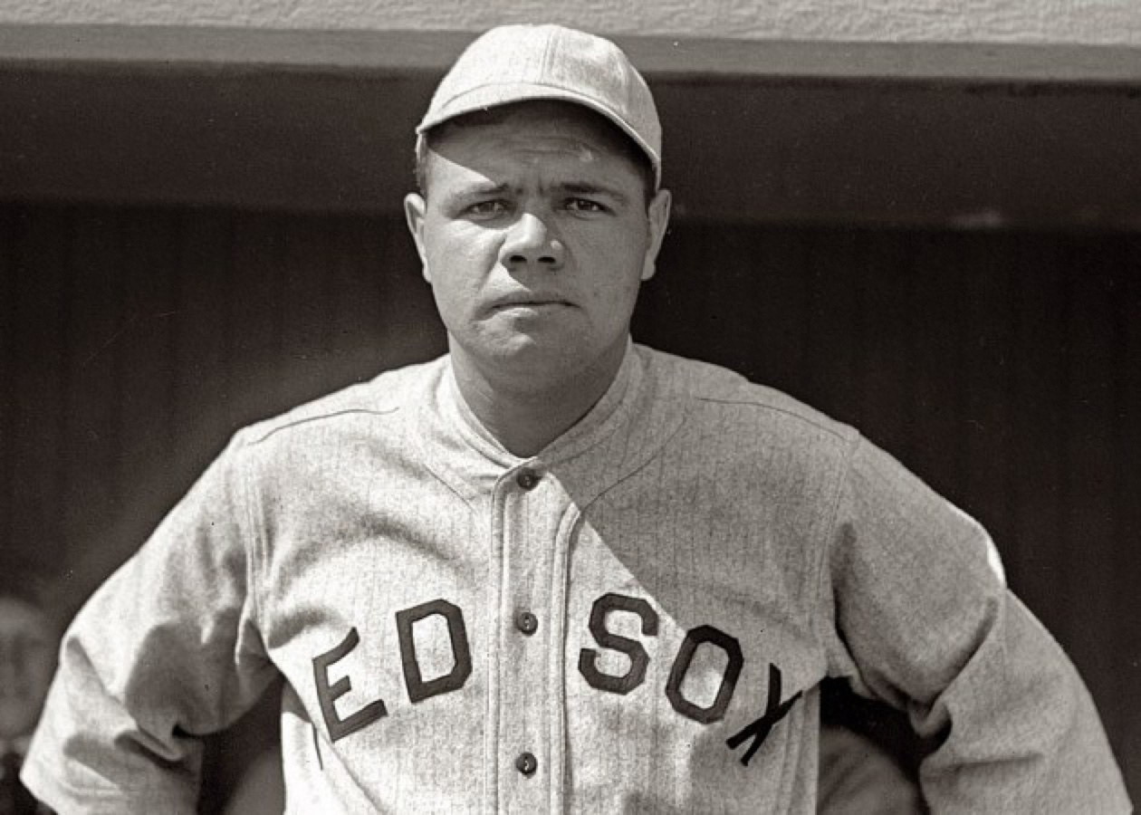 Afflictor.com · Babe Ruth, Upon Becoming A Yankee (1920) Babe Ruth
