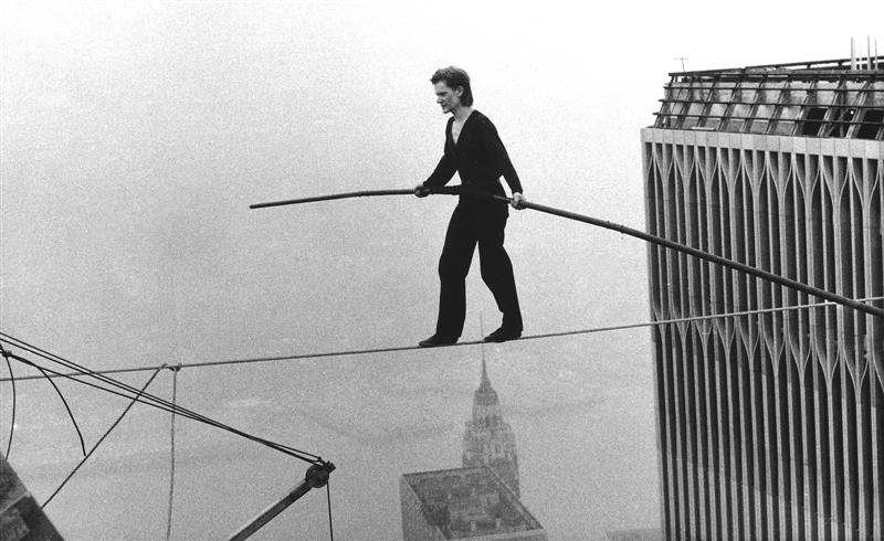 """boldness Philippe Petit """"All Our Senses Are Being Controlled"""""""