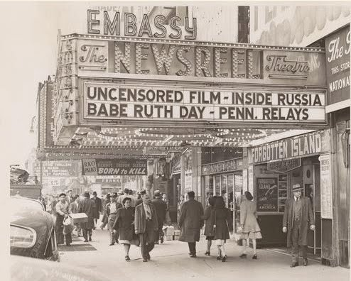Afflictor Com 183 Old Print Article Newsreel Theater
