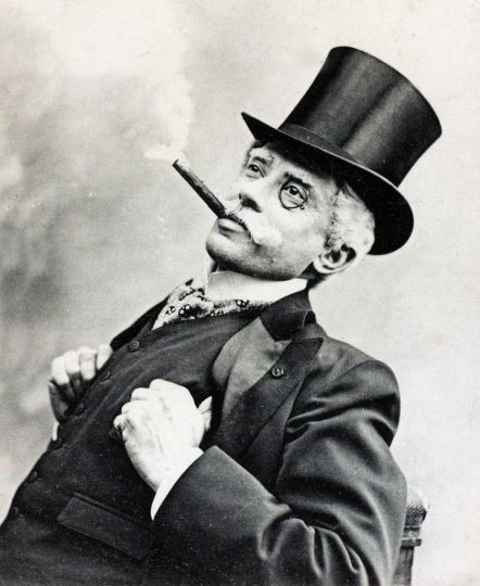 Image result for tophat and monocle millionaire