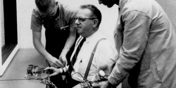 milgram s experiment Details of the experiment and its findings merit deeper review than is possible  here to milgram's surprise and horror, 65% of the subjects in his.