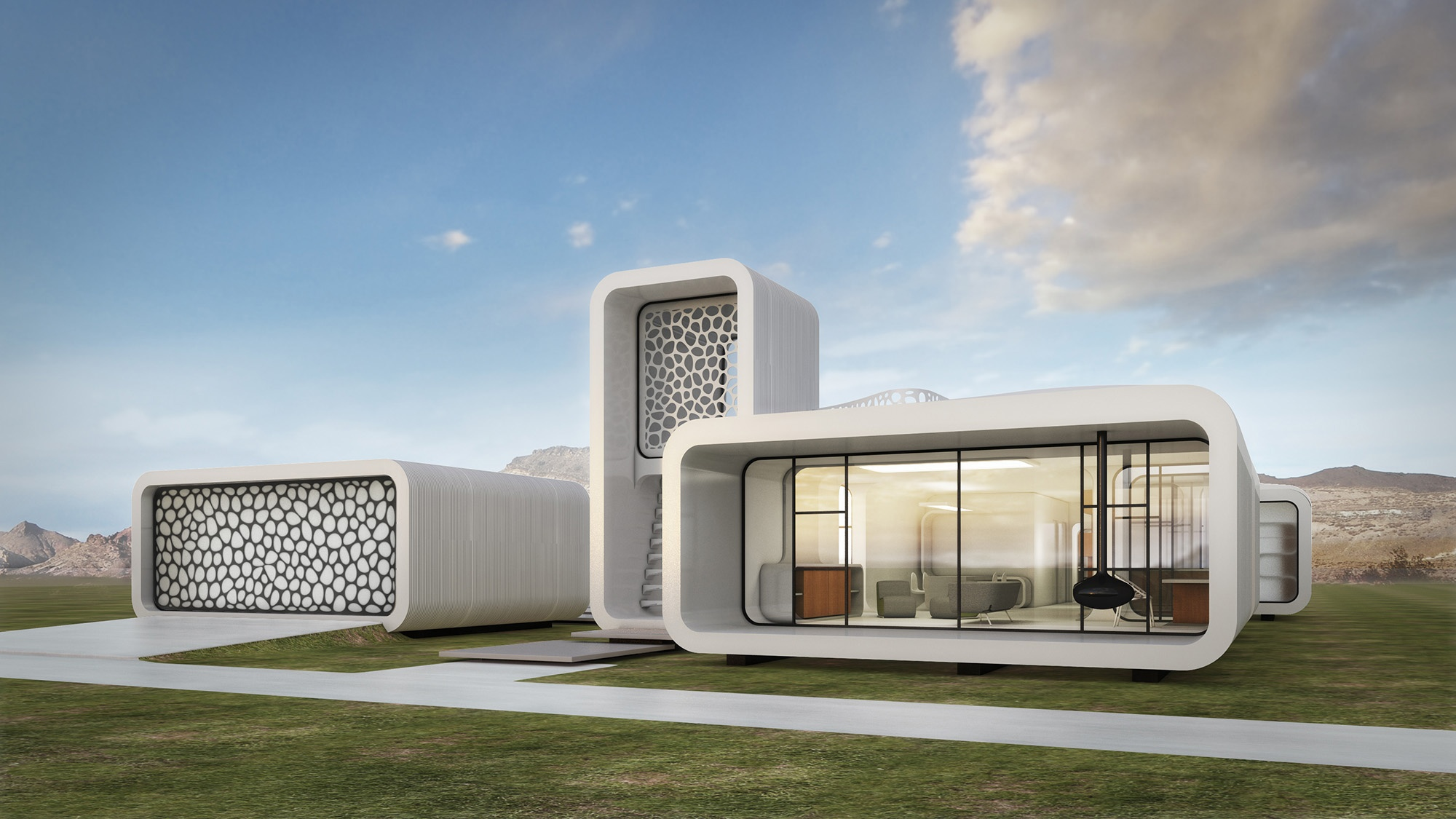 U201cDubai Said It Would Construct A Small Office Building Using A 3D Printeru201d