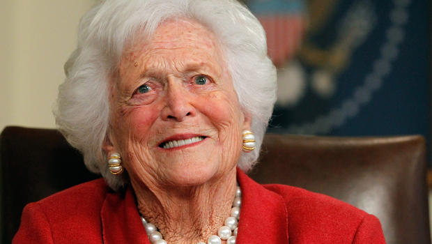 "This week, Barbara Bush to;d Anderson Cooper that her son is not ""as dumb as a rock."" Notice she didnt use the plural."