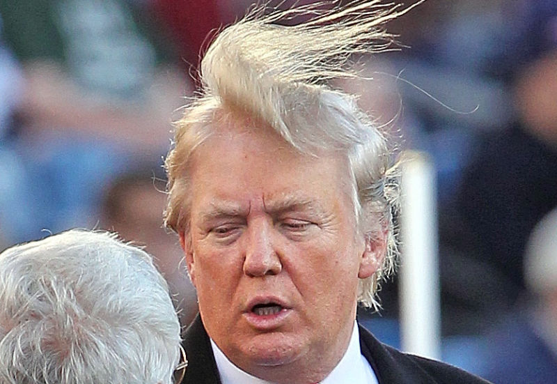 This week, a dishonest, divisive man with bizarre hair enjoyed a political victory, and it actually wasn't Donald Trump/