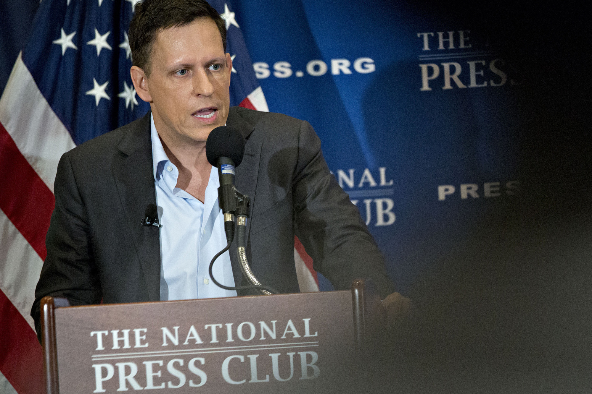 "This week, Peter Thiel called Gawker a ""singularly sociopathic bully,"" which is also an apt description for the Presidential candidate he supports."