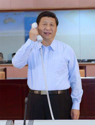Hello, this is President Xi