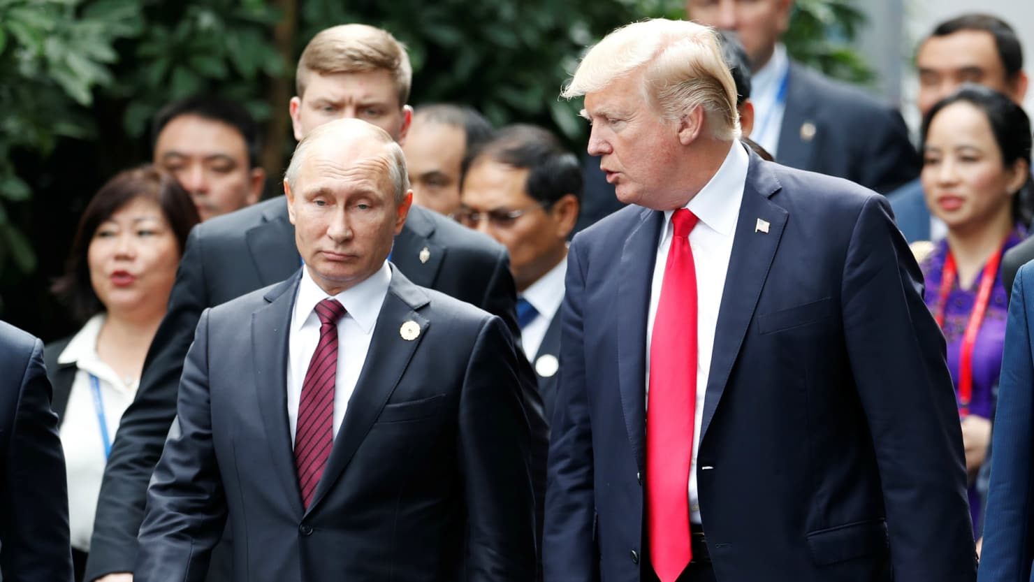 """Kim Jong-un said I'm an """"old lunatic,"""" Vlad. You don't think I'm old, do  you?"""