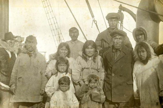 Wrangel Island Inhabitants on board Krasnyj Oktiabr 1924 Old Print Articles: The Tyrant Of Wrangel Island, Brooklyn Daily Eagle (1936)