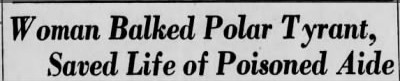 semenchuck8 e1442291896405 Old Print Articles: The Tyrant Of Wrangel Island, Brooklyn Daily Eagle (1936)