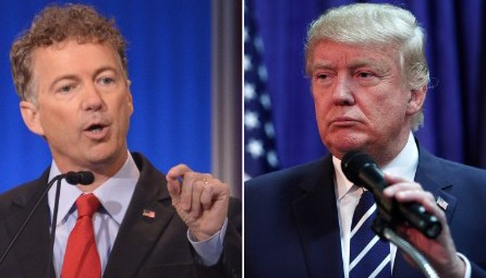 """150812121622 rand paul donald trump large 169 e1447040896733 """"The Old Time Conservative Religion Doesn't Seem To Fire Up The Congregation"""""""