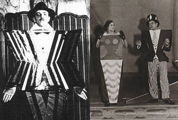 "Sonia Delaunay10 Old Print Article: Sonia Delaunay's ""Cubist"" Clothes, Brooklyn Daily Eagle (1924)"