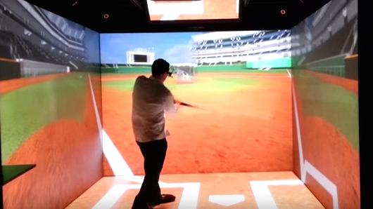 "103117066 Baseball VR.530x298 ""Rays Players Put On High Tech Goggles And Stand In Or At Or Behind A Plate"""