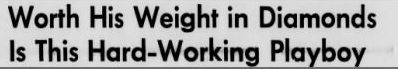 agatitle6 e1463191305300 Old Print Article: Aga Khan Worth His Weight In Gold, Brooklyn Daily Eagle (1941)