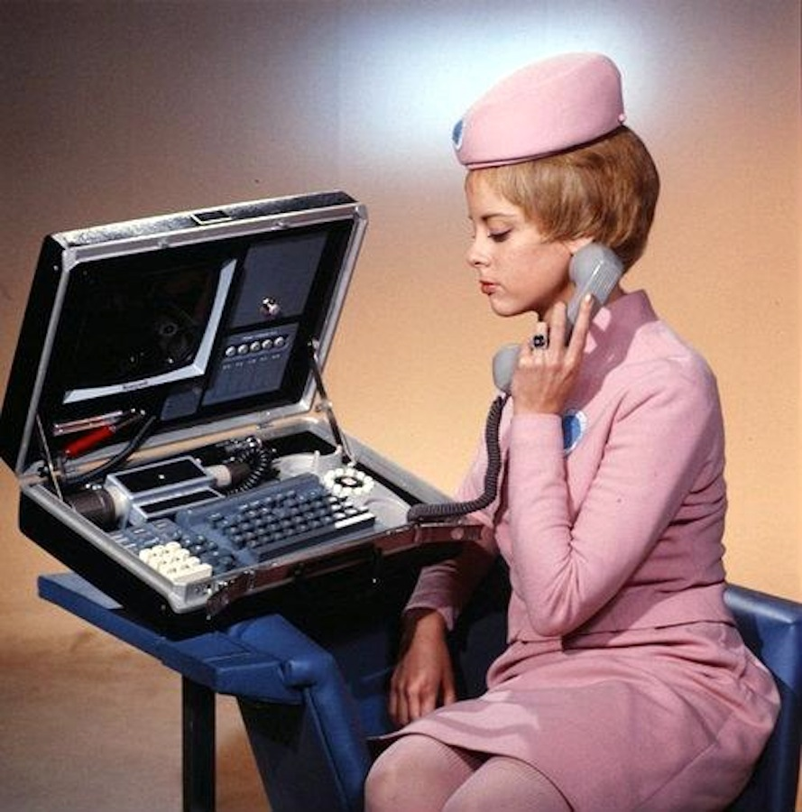 """retrofuturefuturisticphone4 """"I Think We're Going To See People Using Technology Much More Appropriately In The Future"""""""