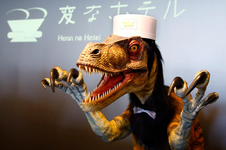 """aptopix japan robot hotel """"We Shouldn't Try And Protect Jobs; We Should Protect Workers"""""""