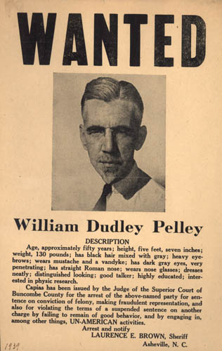 Pelley wanted Old Print Article: William Dudley Pelley, An American Hitler (1938/42)