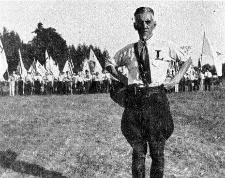 william dudley pelley Old Print Article: William Dudley Pelley, An American Hitler (1938/42)